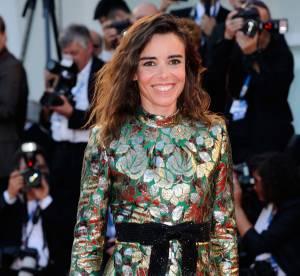 Elodie Bouchez en micro robe dorée : la plus belle de Venise, c'est elle !