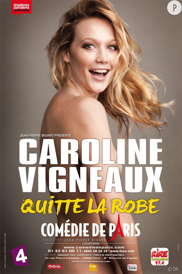 Caroline Vigneaux quitte la robe... Une bombe !