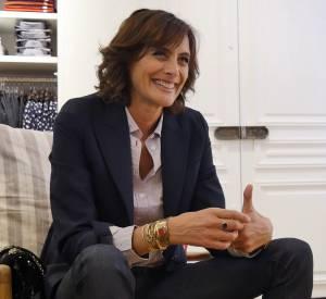 Rencontre avec Ines de la Fressange pour sa collaboration avec Uniqlo.