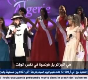 """Lors de l'élection de Miss Algérie le vendredi 5 septembre 2014, Geneviève de Fontenay parle de """"l'Algérie française"""". Oups."""