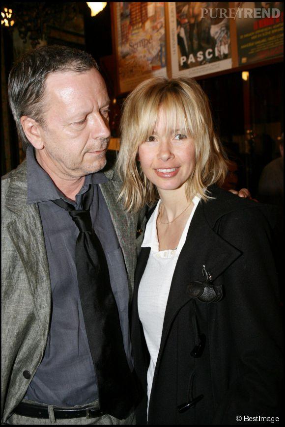 Renaud et Romane en 2007. Voilà déjà trois ans qu'ils se sont séparés... Et que Renaud a mis sa carrière sur pause.