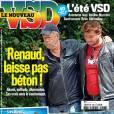 La ocuverture de VSD qui a inquiété les fans du chanteur Renaud.
