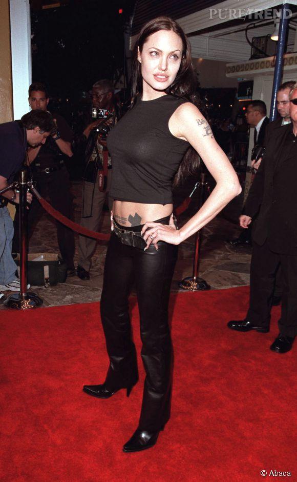 Angelina Jolie a longtemps traîné une réputation de rebelle.