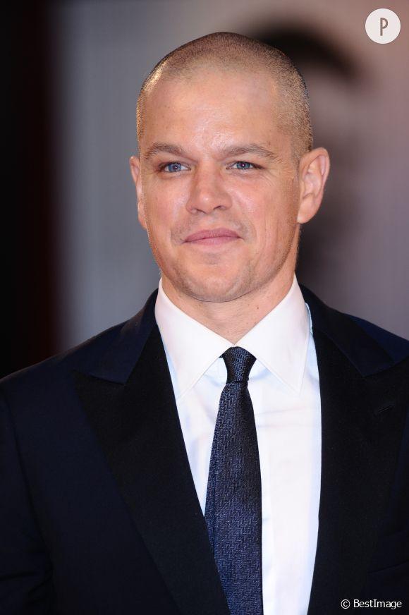 """Matt Damon ajoué le crâne rasé dans le film de science-fiction """"Elysium"""""""