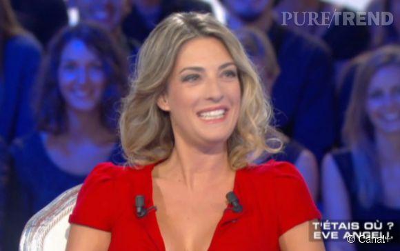 """Eve Angeli était l'invitée de """"Salut les terriens"""" samedi soir sur Canal+."""