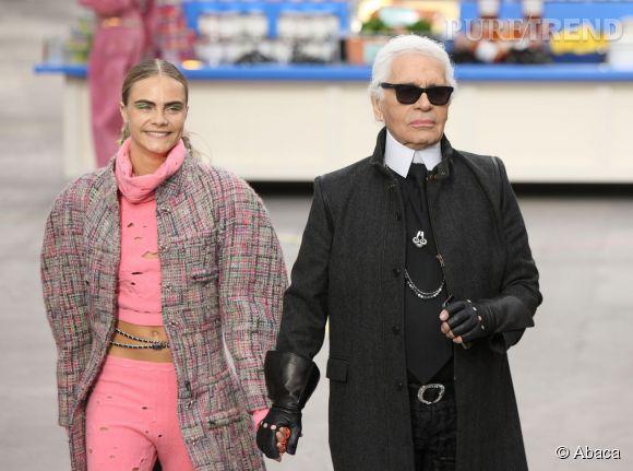 Karl Lagerfeld sort son propre journal sobrement baptisé The Karl Daily.