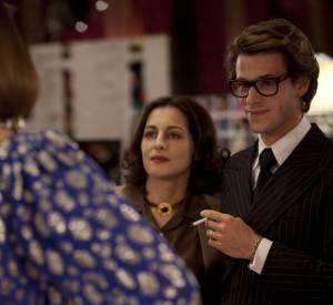 Amira Casar ne porte que des pièces Yves Saint Laurent authentiques dans le film de Bertrand Bonello.