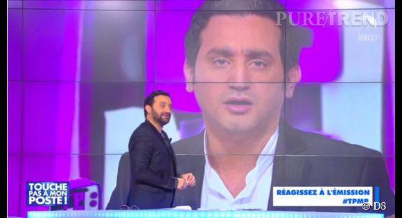 """Cyril Hanouna fait preuve d'autodérision sur le plateau de """"TPMP""""."""