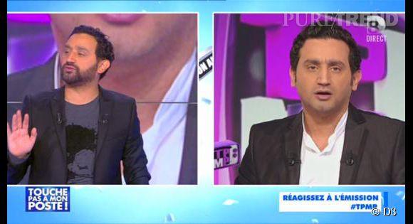 """Cyril Hanouna diffuse les images cultes de la première émission de """"TPMP""""."""