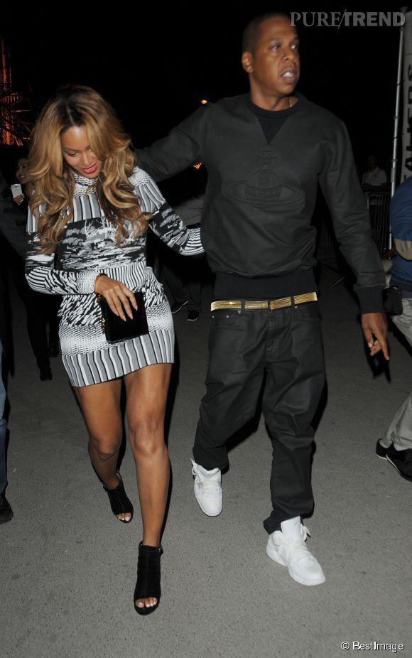 Beyoncé et Jay-Z dans les rues de Paris le15 septembre 2014. Les amoureux chercheraient un appartement dans notre belle capitale.