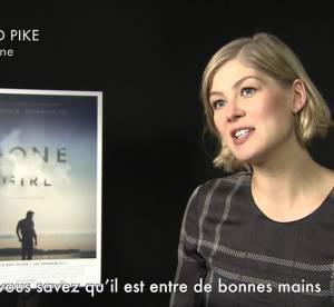 """Rosamund Pike, l'écorchée vive de David Fincher pour """"Gone Girl"""", rencontre"""