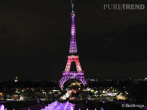 La tour eiffel devient rose pour l 39 occasion - Prix pour monter a la tour eiffel ...