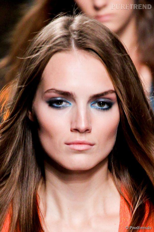 maquillage yeux bleus tendance 2017