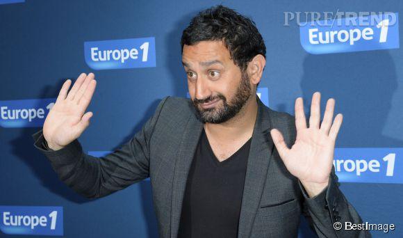 """Cyril Hanouna, avoue qu'Audrey Pulvar est dans sa """"fuck list"""" au micro d'Europe 1 pour son émission """"Les pieds dans le plat""""."""