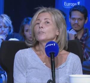 """Claire Chazal dans """"Sortez du cadre"""" sur Europe 1."""
