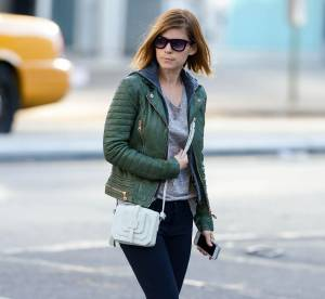 Kate Mara : tenue rock et détail chic, on copie son look