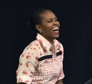 Michelle Obama : sa danse hip-hop avec un navet pour lutter contre l'obésité