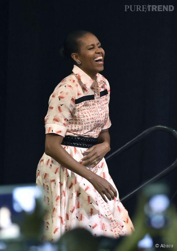 Michelle Obama est une sacrée rigolote, elle le prouve sur Vine, en dansant avec un navet.