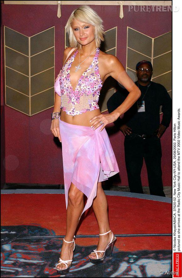 Paris Hilton souffre d'un complexe de Barbie, en 2002.