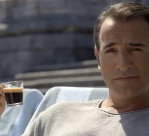 Jean Dujardin, invité de la nouvelle publicité Nespresso.