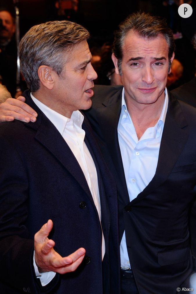 Jean dujardin et george clooney les nouveaux bff d for Dujardin clooney