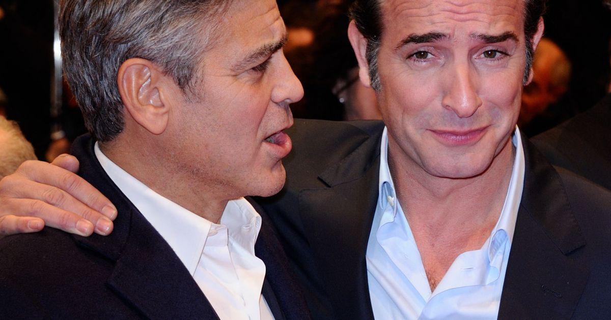Jean dujardin et george clooney les nouveaux bff d 39 hollywood puretrend - Jean dujardin et george clooney ...