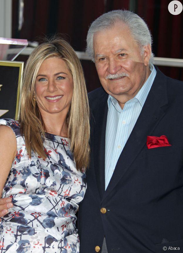 Jennifer Aniston et son père Yannis Anastassakis.