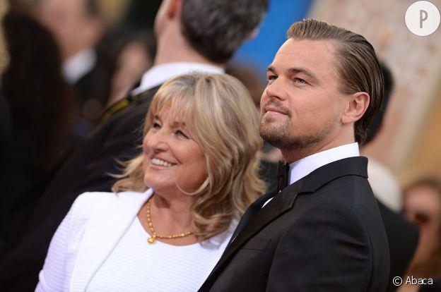 Leonardo DiCaprio et sa mère Irmelin Idenbirken.