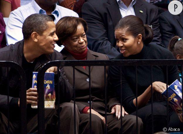 Marian Robinson, la mère de Michelle Obama.