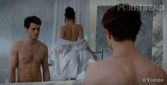 """Jamie Dornan qui interprète le personnage de Christian Grey dans l'adaptation au cinéma de """"Fifty Shades of Grey"""" a confié qu'on ne verrait pas son sexe sur grand écran."""