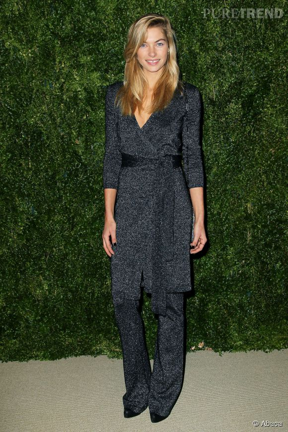 Jessica Hart aux CFDA/Vogue Fashion Fund 2014, ce lundi 3 novembre 2014 à New York.