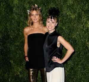 Constance Jablonski et Gigi Burris aux CFDA/Vogue Fashion Fund 2014, ce lundi 3 novembre 2014 à New York.