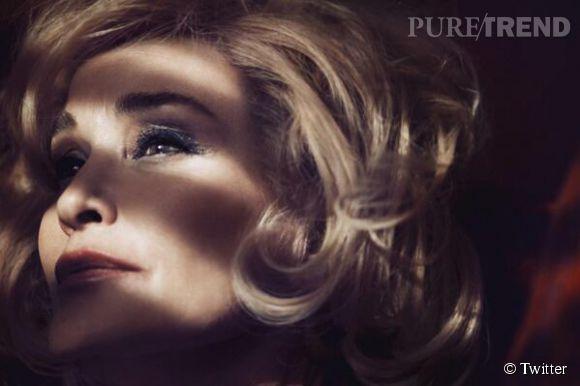 A 64 ans, Jessica Lange est le visage de Marc Jacobs Beauty.
