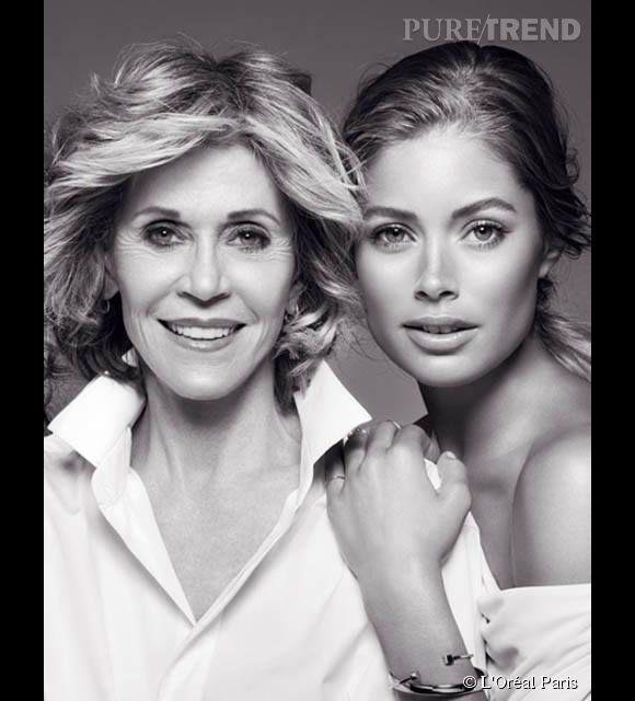 Jane Fonda est ambassadrice L'Oréal Paris depuis quelques années déjà. Elle fêtera bientôt ses 77 ans.