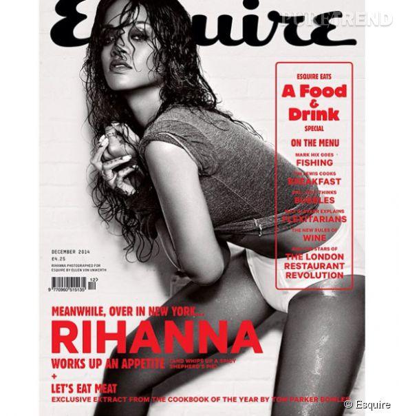 Rihanna en couverture d' Esquire.