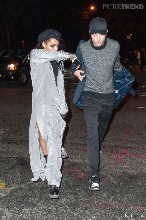 Robert Pattinson et FKA twigs ne se quittent plus !