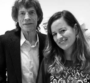 Jade et son père, Mick Jagger.
