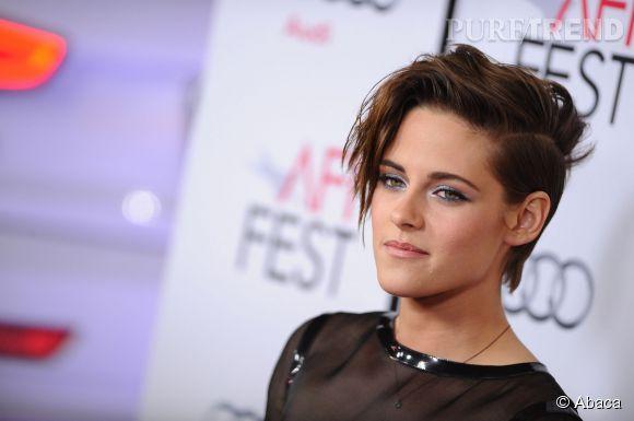 """Kristen Stewart, femme fatale à la première de """"Still Alice""""."""