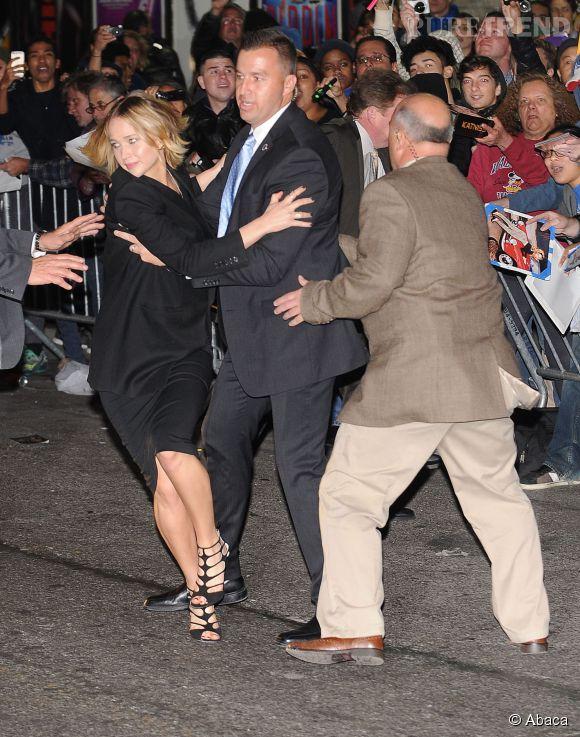 Jennifer Lawrence, la phobie des fans ?