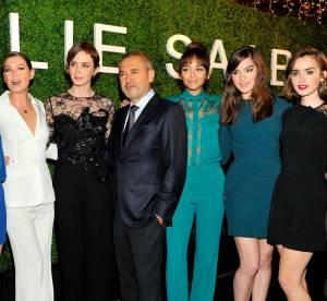 Emily Blunt, Ellen Pompeo... flopée de stars glamour à la soirée Elie Saab