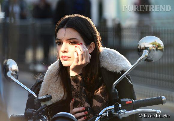 Kendall Jenner pour Estée Lauder
