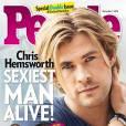 Chris Hemsworth, l'homme vivant le plus sexy de l'année 2014 selon  People .