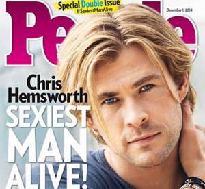 """Chris Hemsworth : """"Homme vivant le plus sexy de l'année"""" devant Jamie Dornan"""