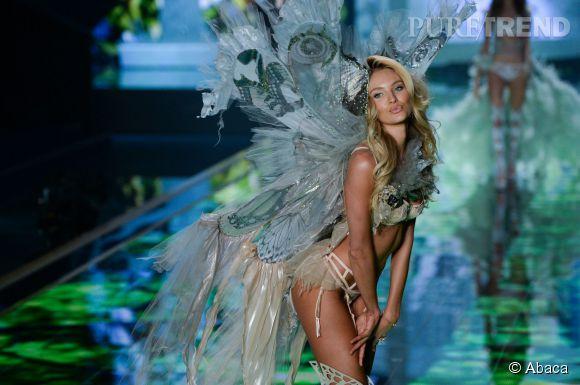 Candice Swanepoel lors du défilé Victoria's Secret 2014.