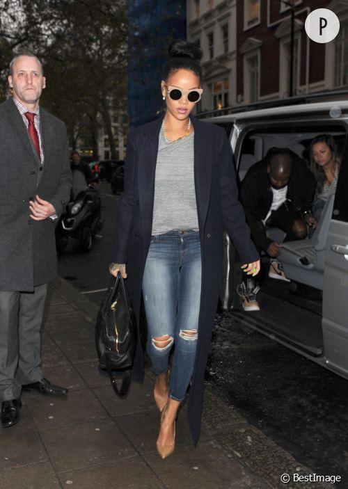 Rihanna, son look hivernal et chic à shopper !