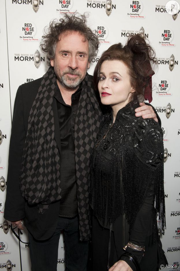Tim Burton et Helena Bonham Carter