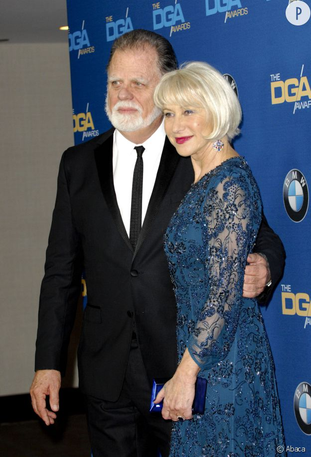 Taylor Hackford et Helen Mirren