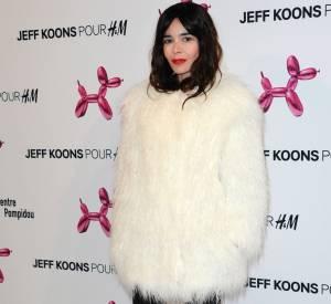 Elodie Bouchez à la soirée Jeff Koons X H&M au Centre Pompidou le 9 décembre 2014.