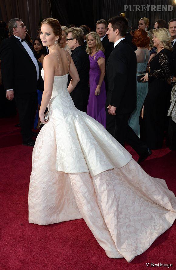 Jennifer Lawrence, la grâce incarnée.
