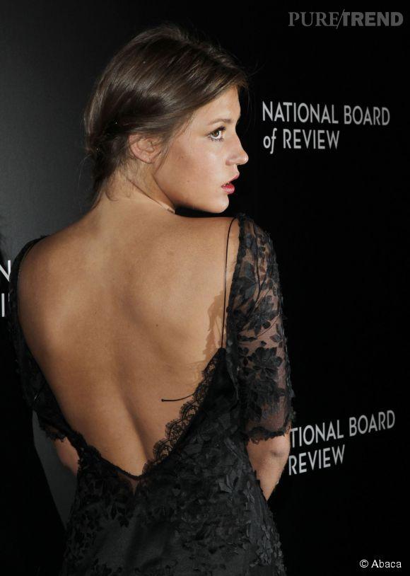 Adèle Exarchopoulos, la it girl française la plus sensuelle des tapis rouges en 2014.
